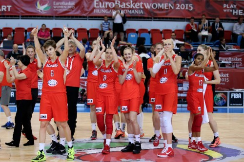 Biélorussie FIBA Ciamillo Castoria Castoria
