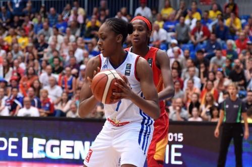 Euro 2015_Sandrine GRUDA (France) vs. Espagne_FIBA_CIAMILLO-CASTORIA_REBAY