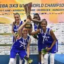 Mondial 3×3 U18 2015 : Les Bleuettes sur le toit du monde !!!!!!!!