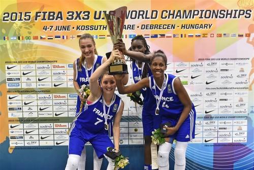 France championne du Monde 3x3 u18 FIBA