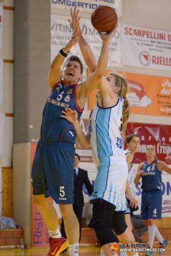 Italie_2014-2015_Ivona BOGOJE (Cagliari) vs. Umbertide_Luca BERDINI