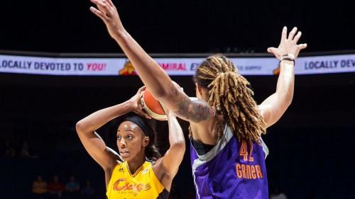 WNBA_2014_Glory JOHNSON (Tulsa)_Shane BEVEL_NBAE