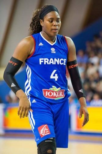 isa Yacoubou page facebook EDF féminine de BasketBall