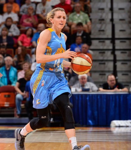 Allie QUIGLEY NBAe Getting Images