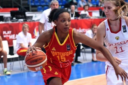 Euro 2015_Angelica ROBINSON (Monténégro) vs. Russie_FIBA Europe