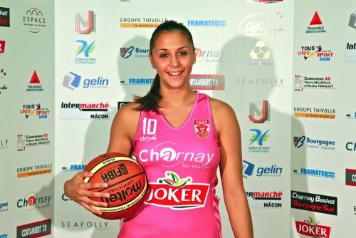 Léa Lambert charnay-basket-bourgogne-sud.fr
