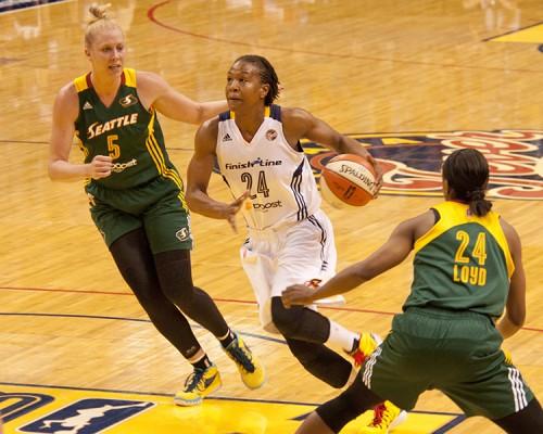 WNBA 2015Tamika CATCHINGS Indiana FEVER