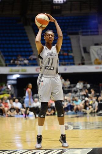WNBA 2015 Valériane AYAYI D. Clarke Evans /NBAE/Getty Images