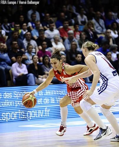Ana LELAS FIBA Europe Hervé BELLENGER