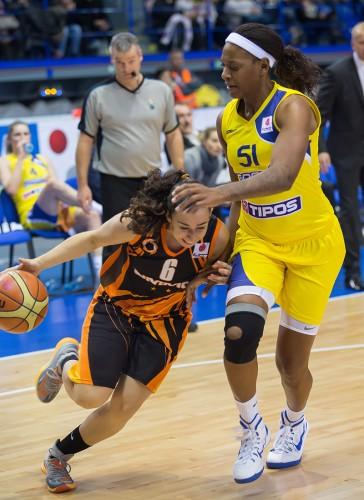 Euroligue 2014-2015_Silvia DOMINGUEZ (Ekaterinbourg)_FIBA Europe_Lubomira ISTONOVA