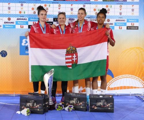 Hongrie champion u18 3x3 FIBA Europe