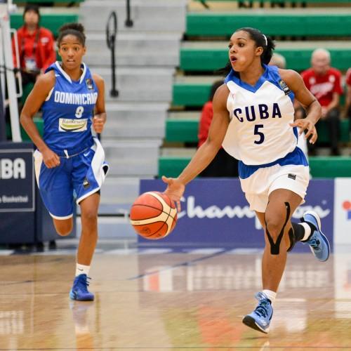 Ineidis CASANOVA GONZALEZ FIBA Americas A.J. Lawrence