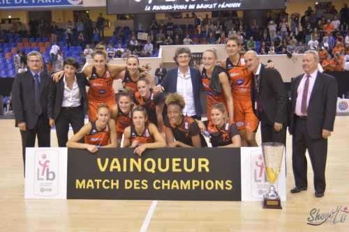 Bourges vainqueur match des champions 2015_Laury MAHE