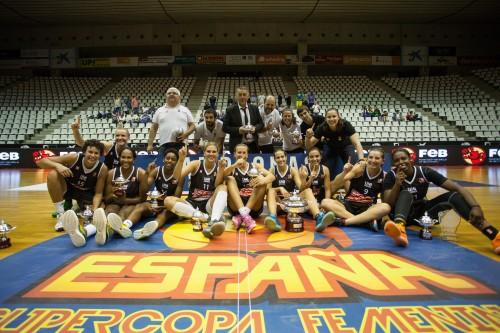 Espagne_Gérone vainqueur Supercoupe_FEB