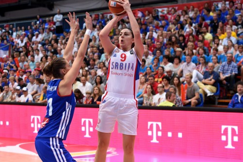 Euro 2015_Jelena MILOVANOVIC (Serbie) vs. France)_FIBA Europe_Castoria_Rebay