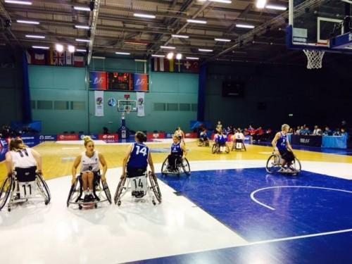 Euro handisport 2015_ France vs. Grande Bretagne_EWBC