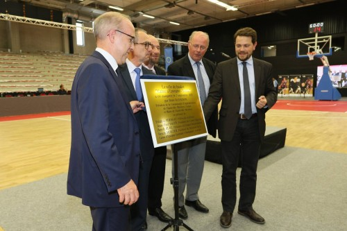 Inauguration Caisse d'Epargne Arena_Michel RENAUX