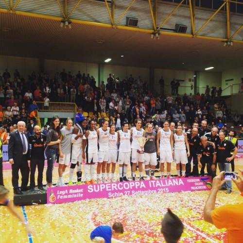 Italie_2015-2016_Schio vainqueur Supercoupe_Lega Basket Femminile