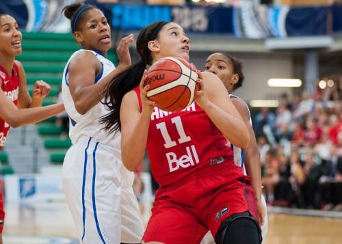 Jeux Panaméricains 2015_Natalie ACHONWA (Canada) vs. Rép. Dominicaine_A.J. LAWRENCE_FIBA Americas