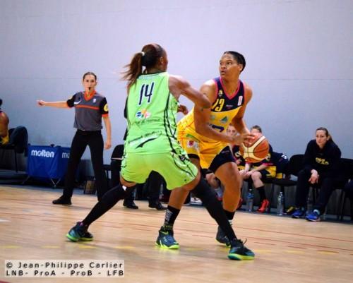 LFB_2014-2015_Jazz COVINGTON (Calais) vs. Hainaut Basket_Jean-Philippe CARLIER