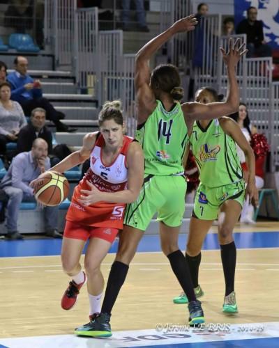 LFB_2014-2015_Kristina BALTIC (Lyon) vs. Hainaut Basket_Jérôme LE BRIS