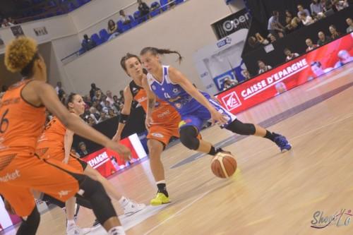 LFB_2015-2016_Anaël LARDY (Montpellier) 5 vs. Bourges_Laury MAHE