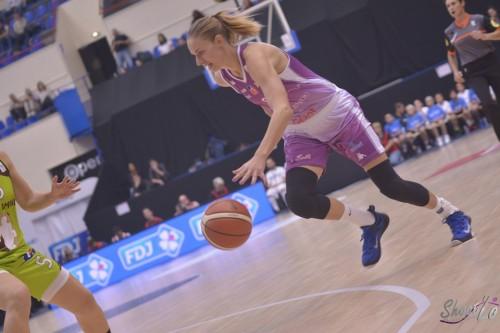 LFB_2015-2016_Elisabeth EGNELL (Angers) 3 vs. Hainaut Basket_Laury MAHE