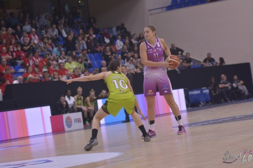 LFB_2015-2016_Elise PRODHOMME (Angers) 3 vs. Hainaut Basket_Laury MAHE