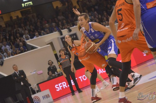 LFB_2015-2016_Elodie GODIN (Montpellier) 1 vs. Bourges_Laury MAHE