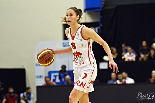 LFB_2015-2016_Kim GAUCHER-SMITH (Mondeville) vs. Toulouse_Laury MAHE