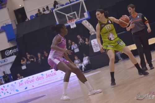 LFB_2015-2016_Laura GARCIA (Hainaut Basket) 3 vs. Angers_Laury MAHE