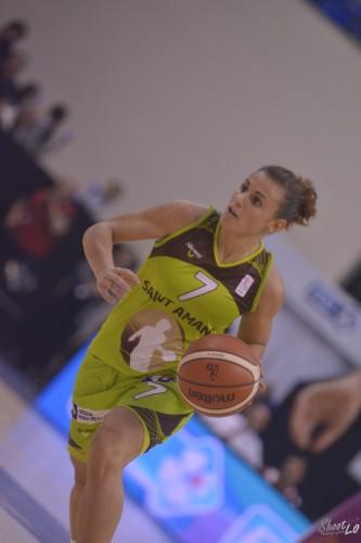 LFB_2015-2016_Mélissa MICALETTO (Hainaut Basket) 3 vs. Angers_Laury MAHE