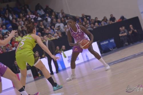 LFB_2015-2016_Marie MANE (Angers) 1 vs. Hainaut Basket_Laury MAHE