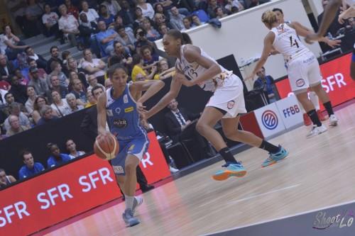 LFB_2015-2016_Miranda AYIM (Basket Landes) vs. Charleville_Laury MAHE