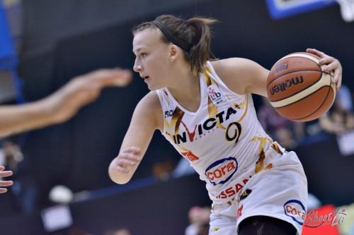 LFB_2015-2016_Pauline LITHARD (Charleville-Mézières) 1 vs. Basket Landes_Laury MAHE
