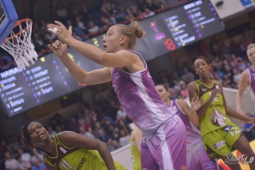 LFB_2015-2016_Sofija ALEKSANDRAVICIUS (Angers) 1 vs. Hainaut Basket_Laury MAHE