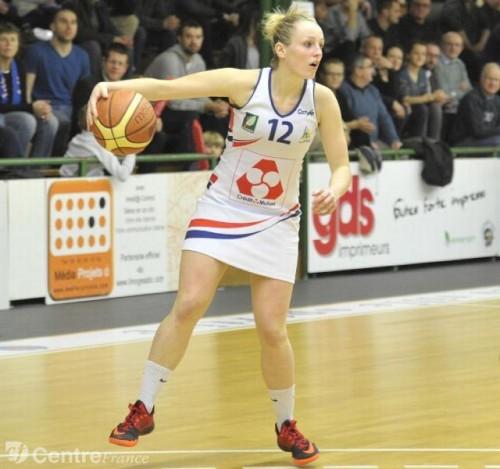Ligue 2_2014-2015_Mélanie DEVAUX (Limoges)_Brigitte AZZOPARD