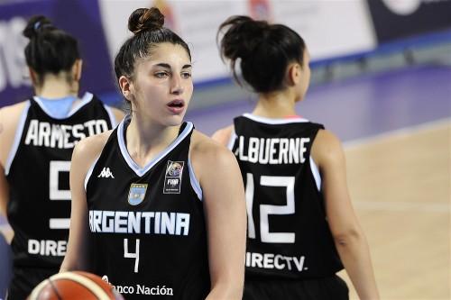 Mondial U19 2015_Vicky LLORENTE (Argentine)_FIBA