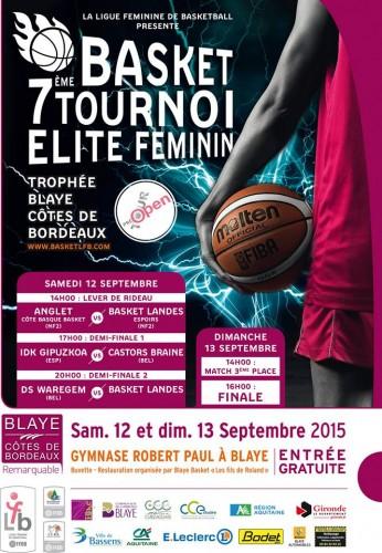 Tournoi de Blaye 2015