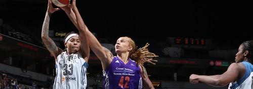 WNBA_2015_Brittney GRINER (Phoenix) vs. Minnesota_WNBA
