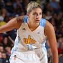 Deux joueuses WNBA au match des célébrités du All-Star Week-End NBA
