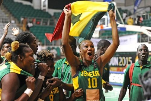 Afrobasket 2015_célébration Sénégal_FIBA Afrique