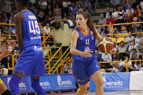 Espagne_2015-2016_Leonor RODRIGUEZ (Salamanque) vs. Gran Canaria_Alejandro LOPEZ REDONDO