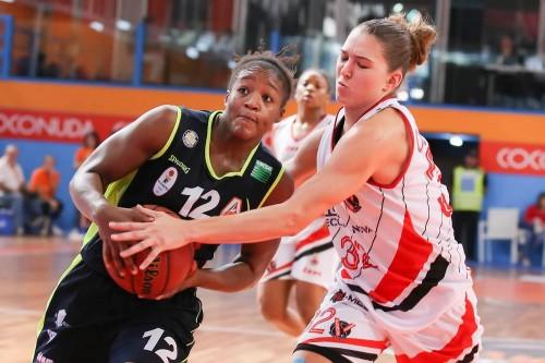 Italie_2015-2016_Yvonne ANDERSON (Turin) vs. Vigarano_Lega Basket Femminile