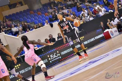 LFB_2015-2016_Ambrosia ANDERSON (Nice) 2 vs. Arras_Laury MAHE