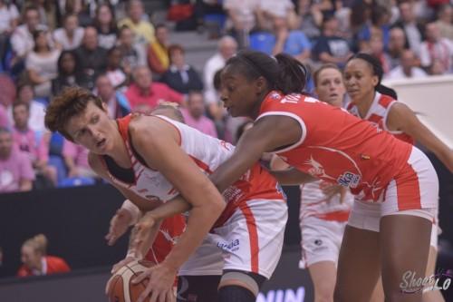 LFB_2015-2016_Emilija PODRUG (Villeneuve d'Ascq) 1 vs. Lyon_Laury MAHE
