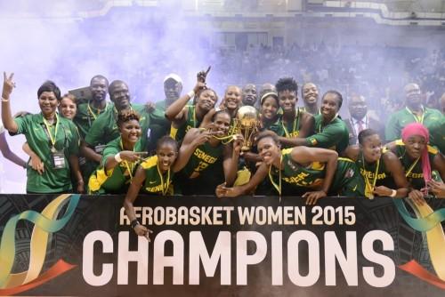Sénégal champion d'Afrique 2015 FIBA Afrique