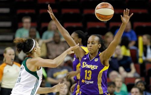 WNBA_2015_Farhiya ABDI (Los Angeles)_Elaine THOMPSON