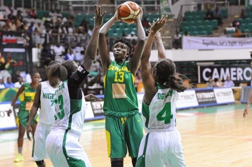 Afrobasket 2015_Oumou TOURE (Sénégal) vs. Nigeria_FIBA