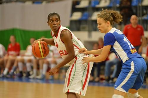 Doneeka HODGES-LEWIS (Bulgarie)_FIBA Europe_Fédération Bulgare de Basketball